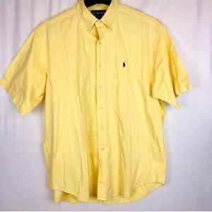 Ralph Lauren Men's Sz L Short Sleeve Casual Shirt